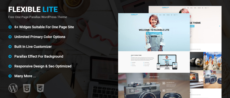 One Page WordPress Theme Free, Best Free WordPress Themes