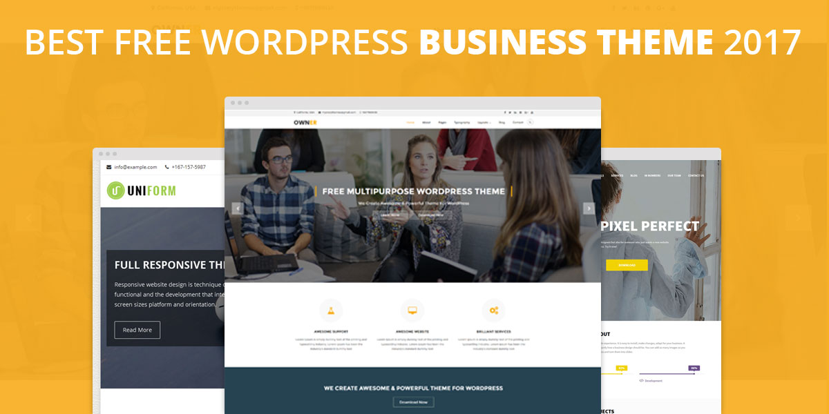 Best free wordpress themes for business mysterythemes 10 best free responsive wordpress business themes 2018 accmission