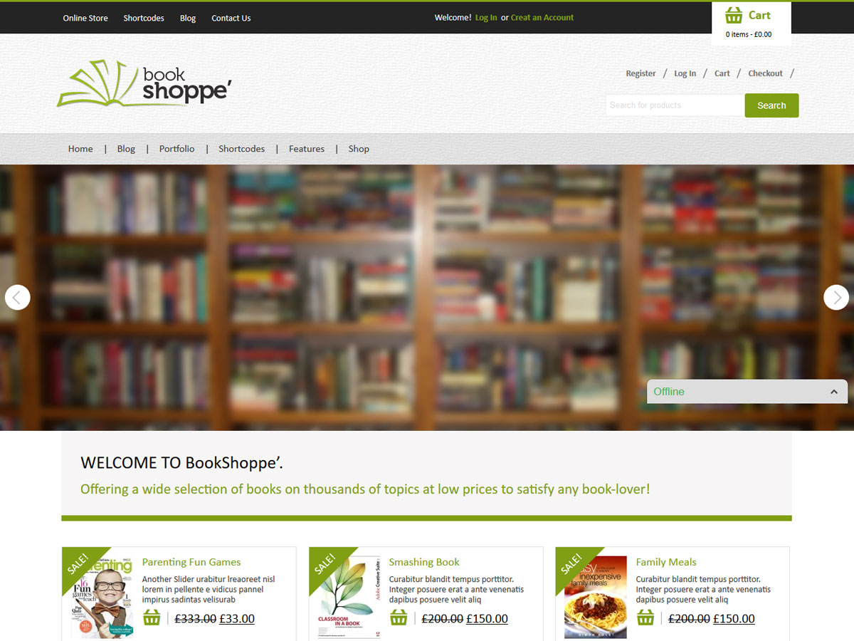 Ecommerce archives mystery themes bookstore maxwellsz