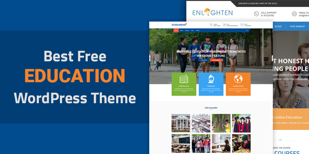 Best Free Education WordPress Themes