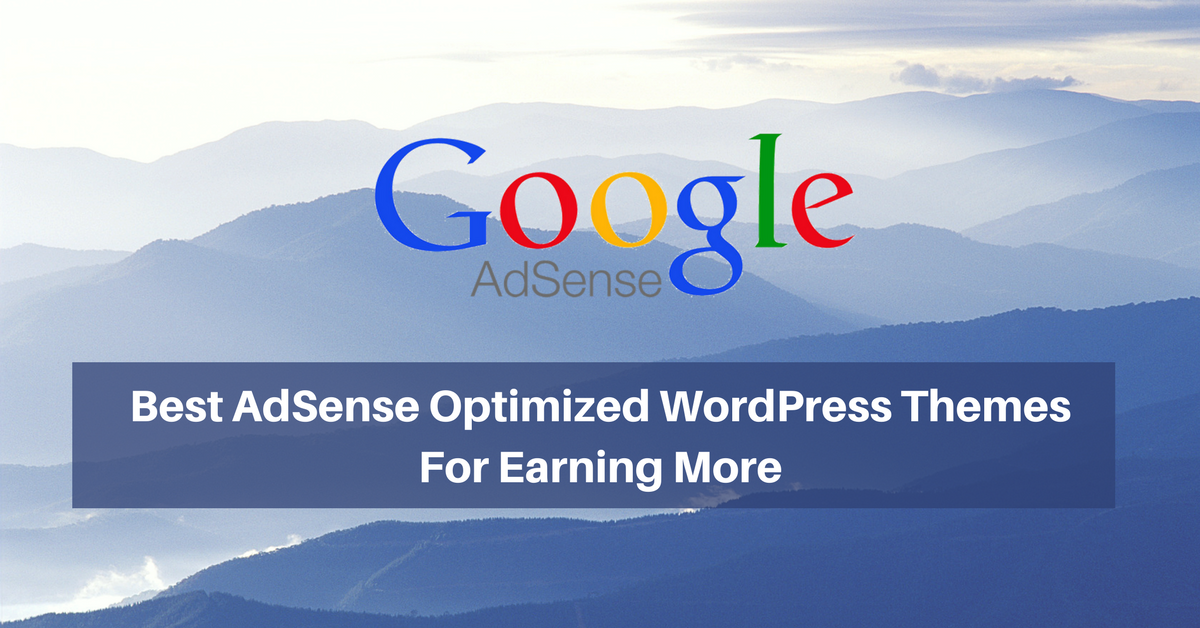 best adsense optimized wordpress themes