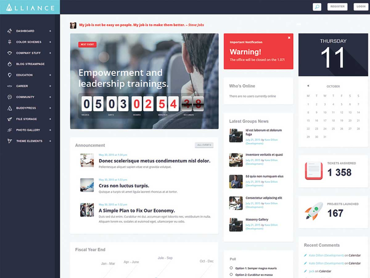 Alliance-Intranet-&-Extranet-WordPress-Theme