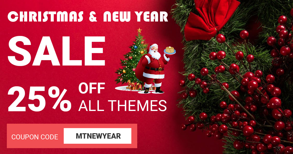Christmas Deals 2020 Best Christmas 2019 and New Year 2020 WordPress Deals