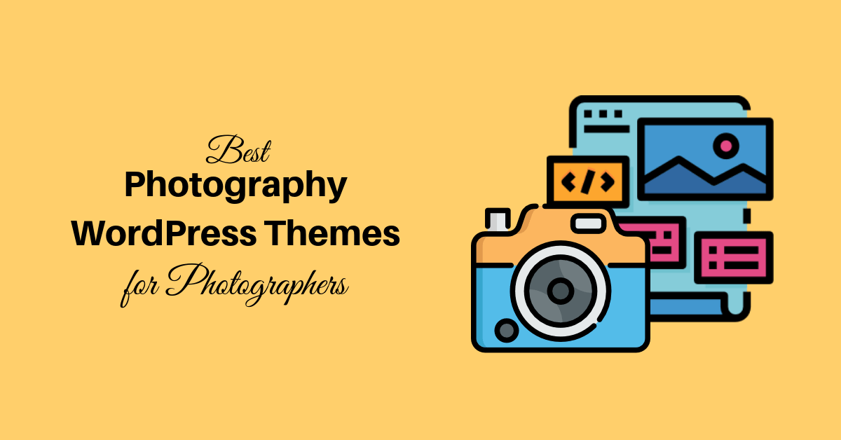 Best Photography WordPress themes for photographers