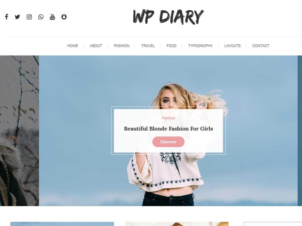 WP-Diary