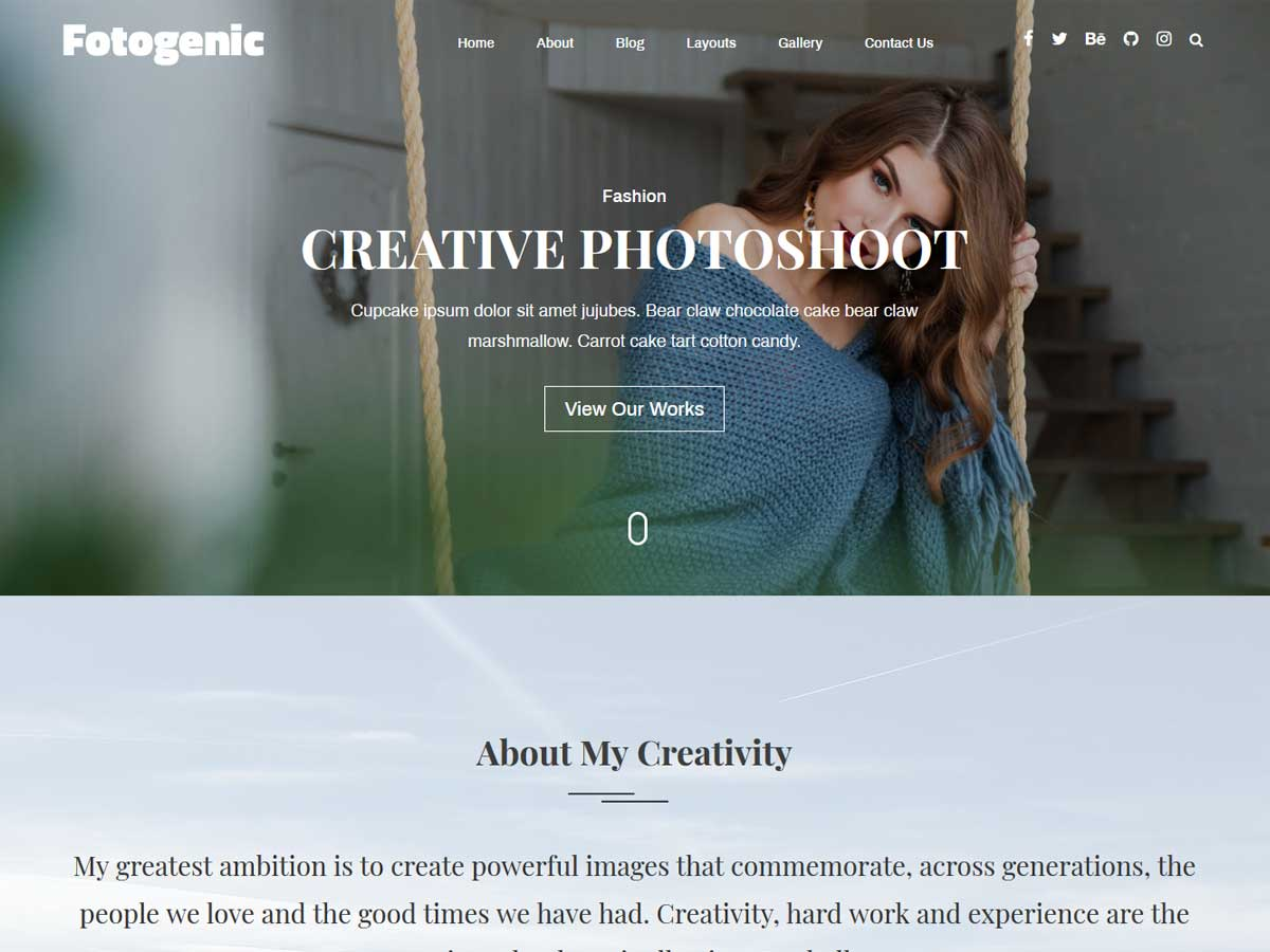 fotogenic-wordpress-theme