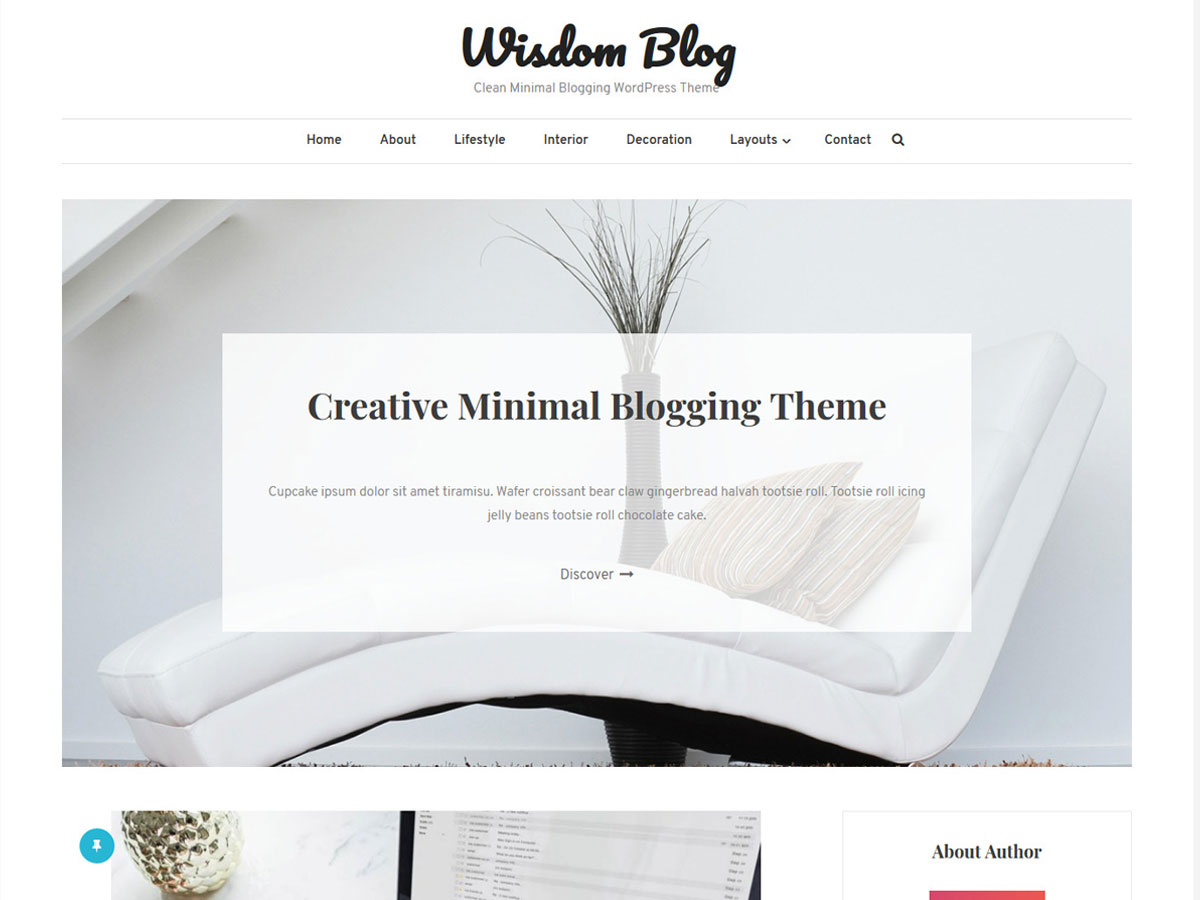 wisdom-blog-minimalist-WordPress-theme