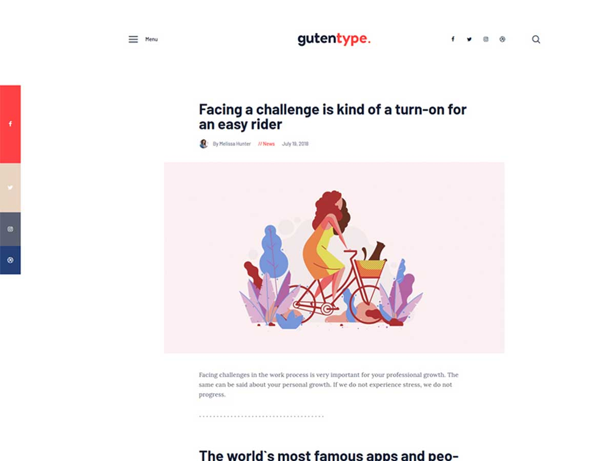gutentype-gutenberg-wordpress-blog-theme