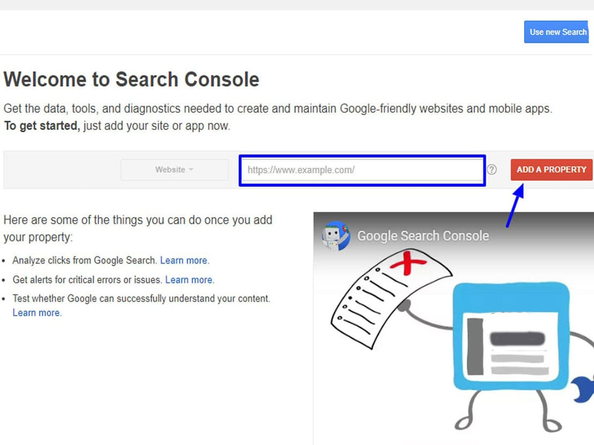 Changes-on-google-search-console