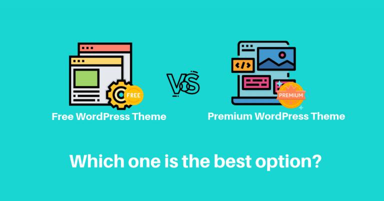 Free WordPress themes vs premium wordpress themes