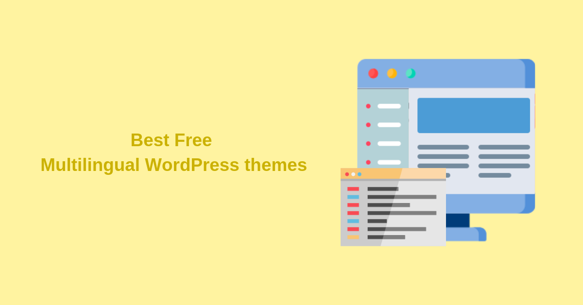 Best Free Multilingual WordPress Themes