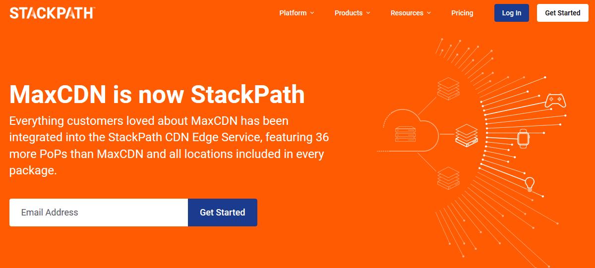 MaxCDN StackPath