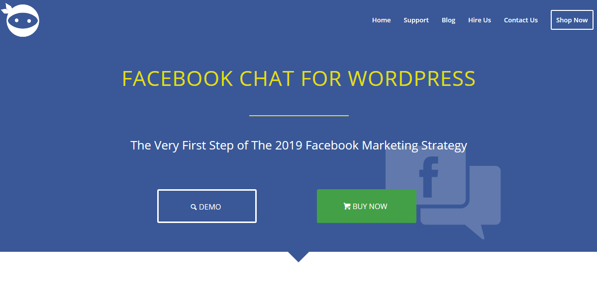 Facebook Chat for WordPress Ninja Team