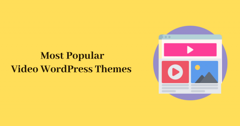 Most Popular Video WordPress Themes
