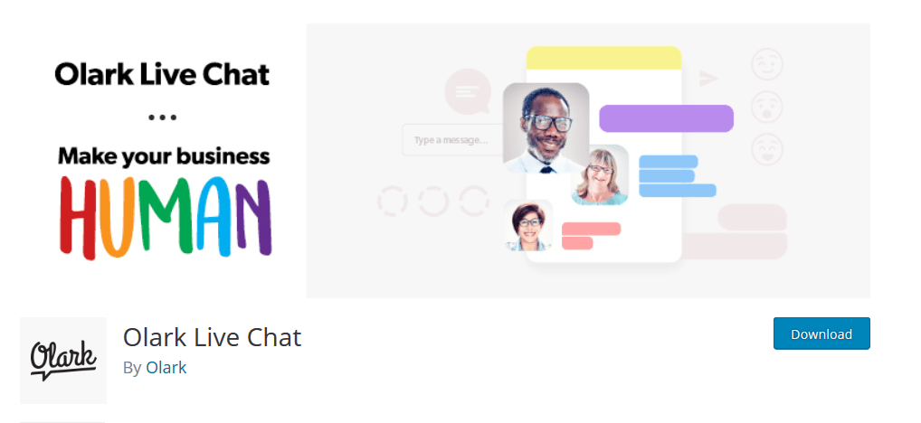 Olark Live Chat – WordPress plugin