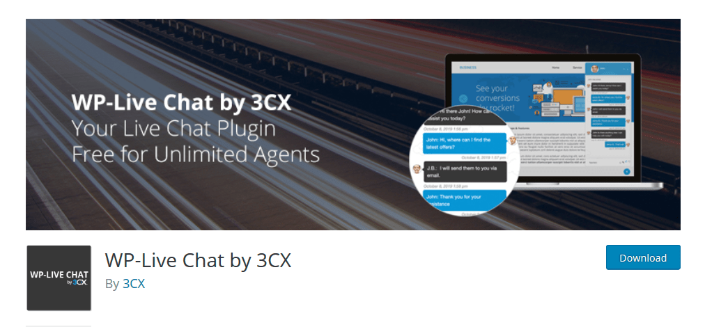 WP Live Chat by 3CX