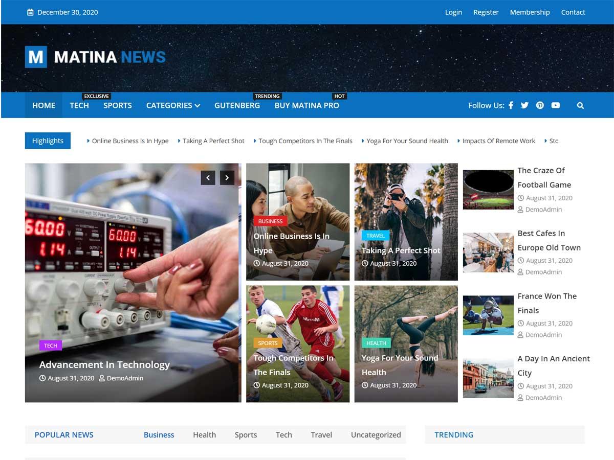 Matina-News