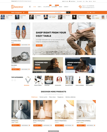 Free Ecommerce WordPres Theme 2020