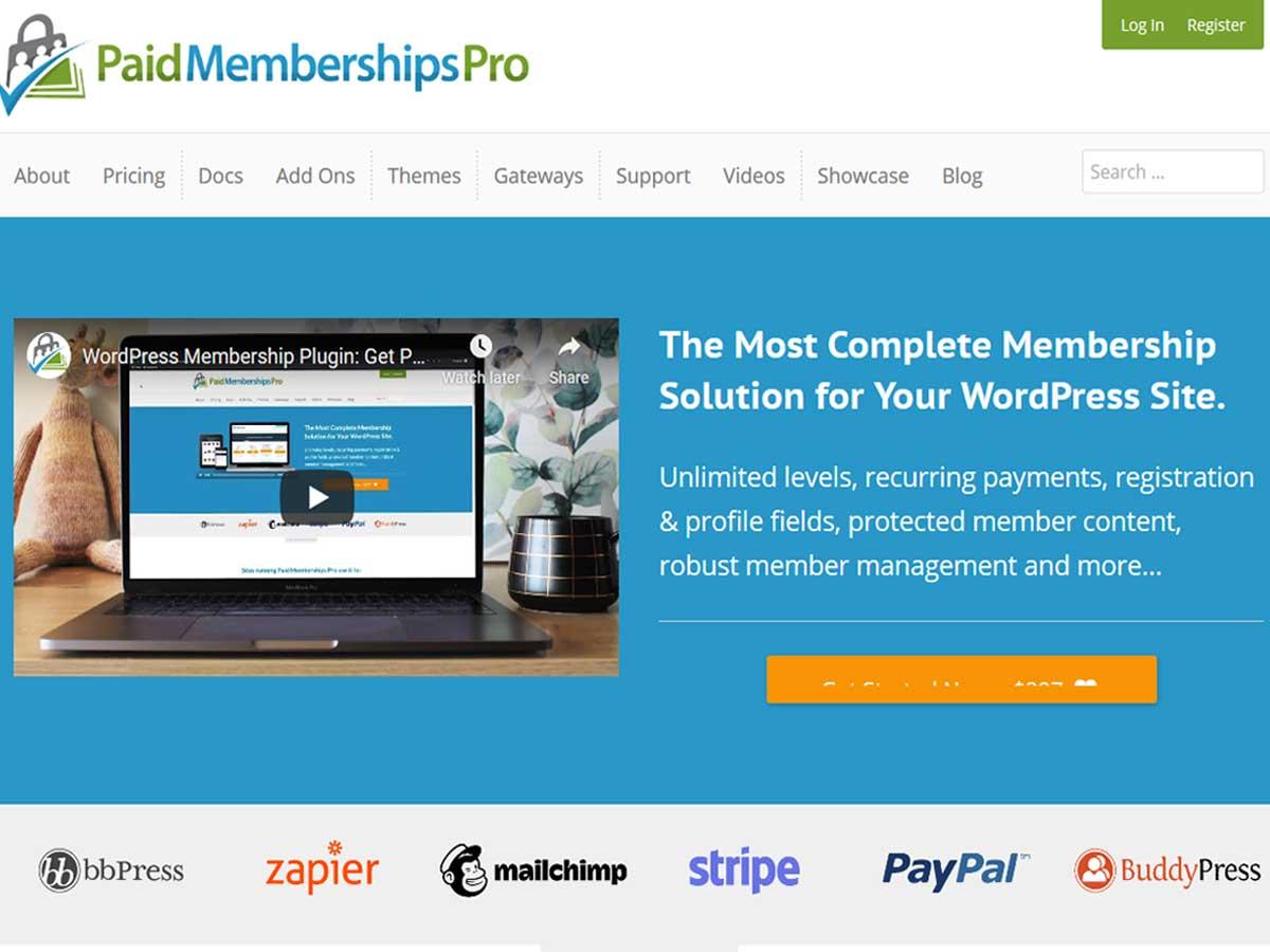 Paid-Membership-Pro