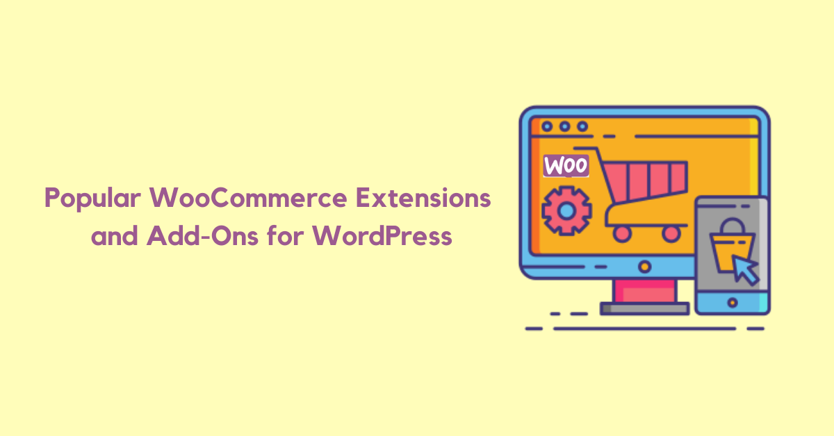 Popular Commerce Extensions and Add-Ons for WordPress