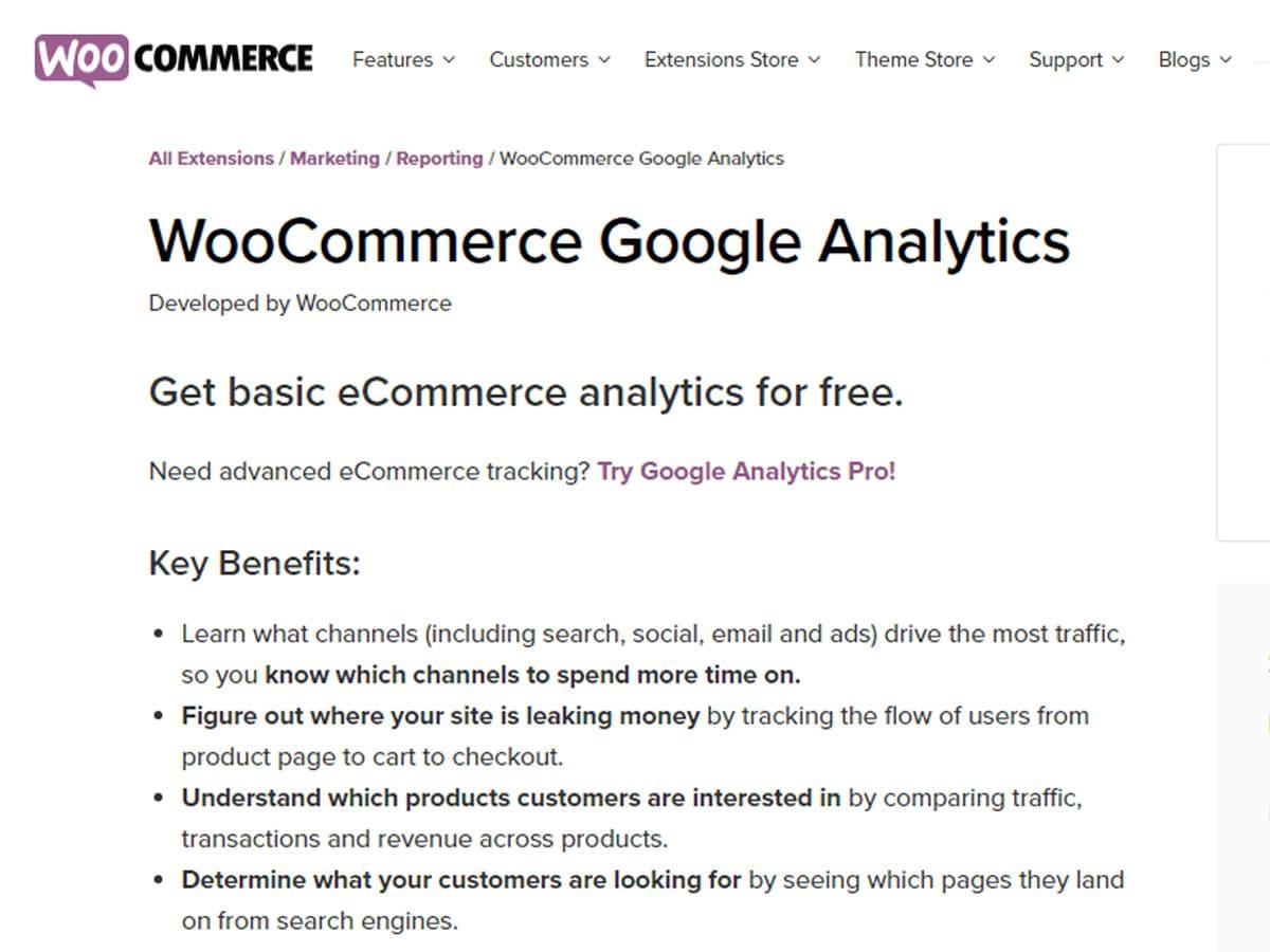 WooCommerce-Google-Anlaytics