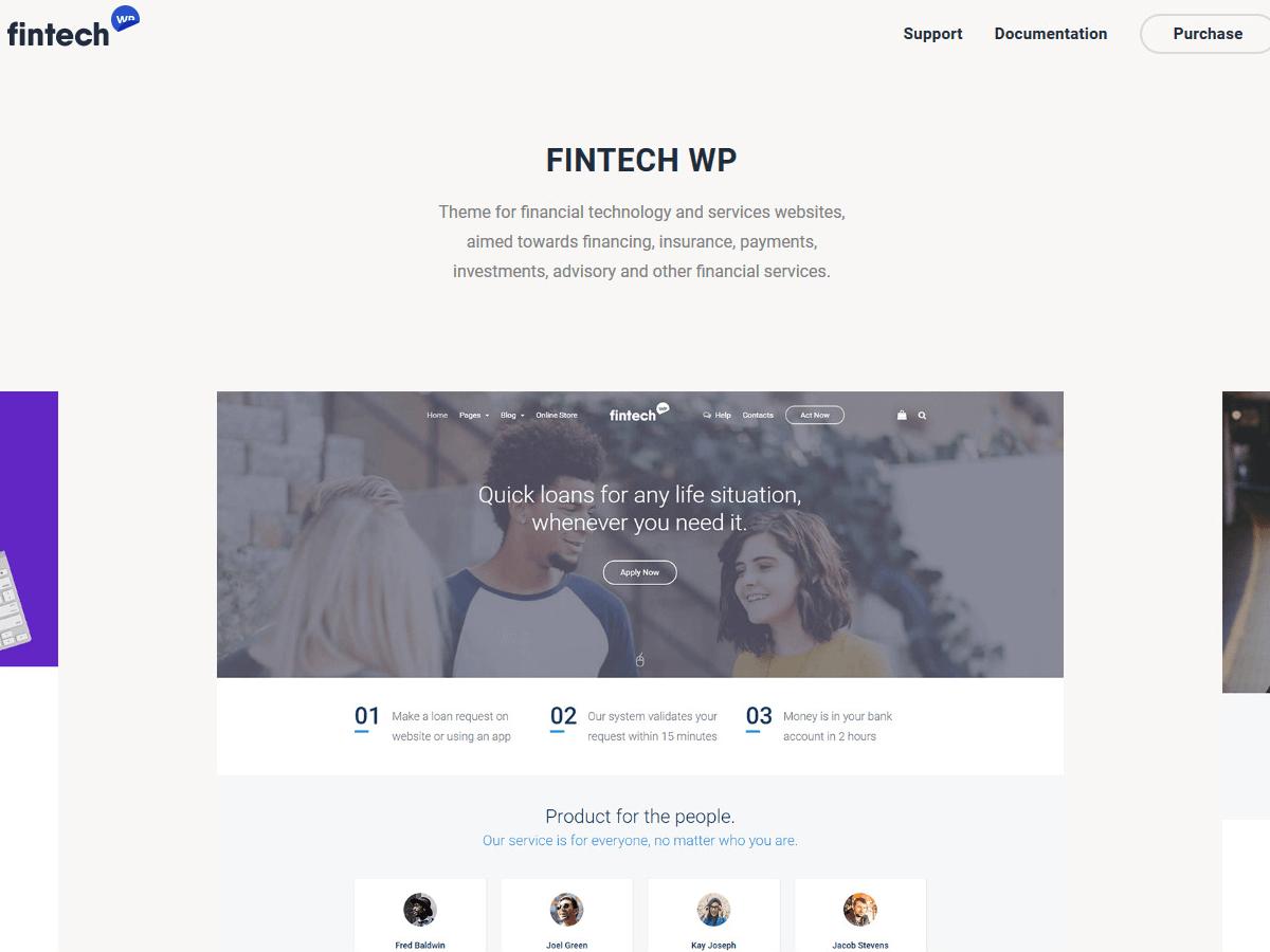 Fintech-WP-startups-themes