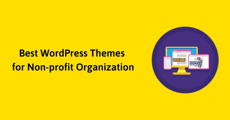 Best WordPress Theme for Non-profit Organization
