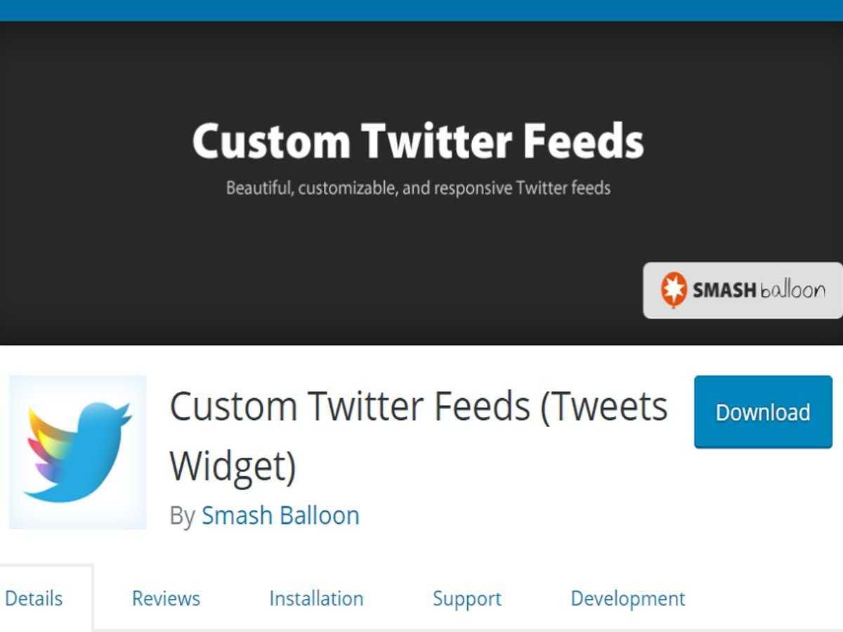 Custom-Twitter-Feeds