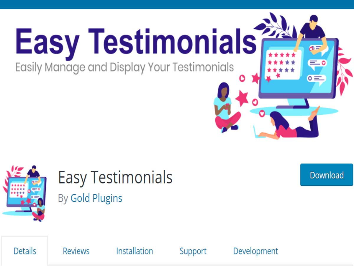 Easy-Testimonials