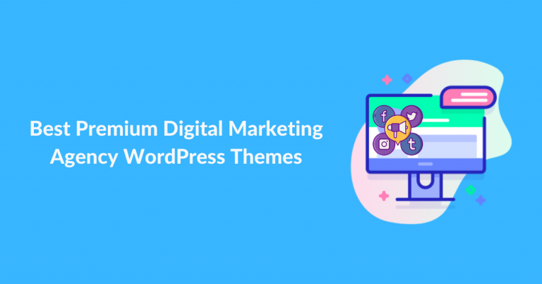Best Premium Digital Marketing Agency WordPress Themes