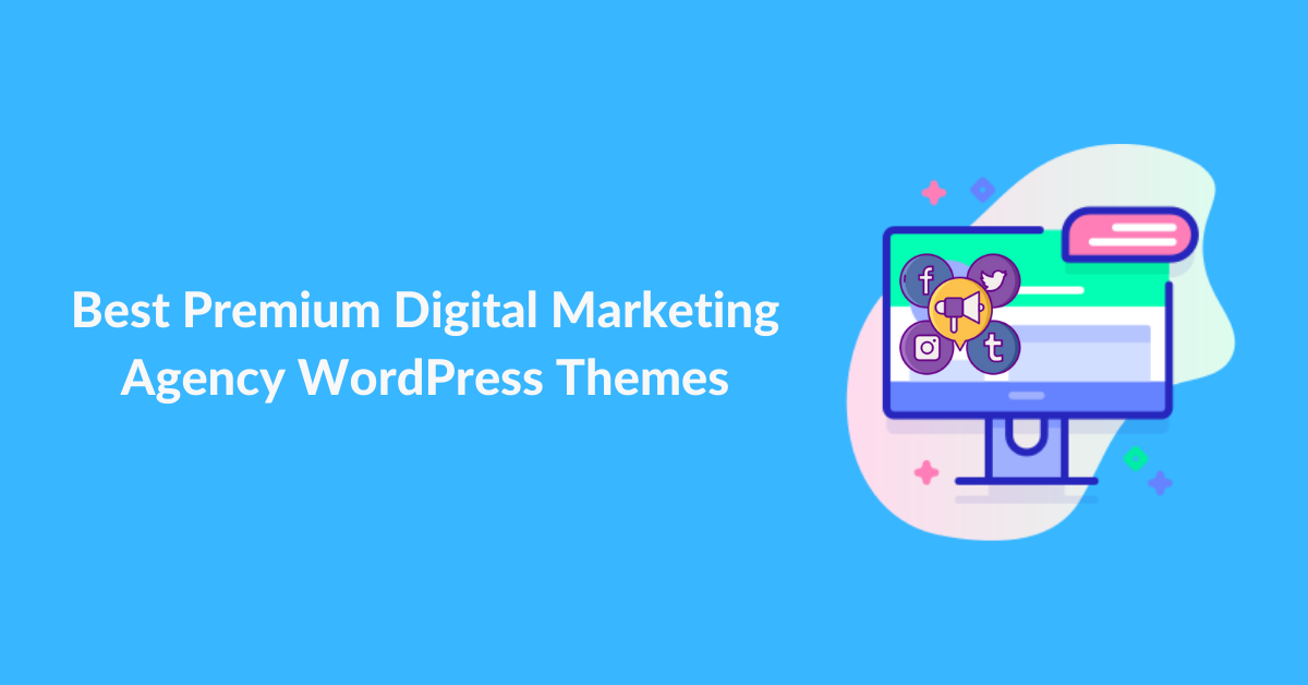 Best Premium Digital Marketing Agency WordPress Themes